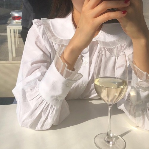 white, champagne and blouse