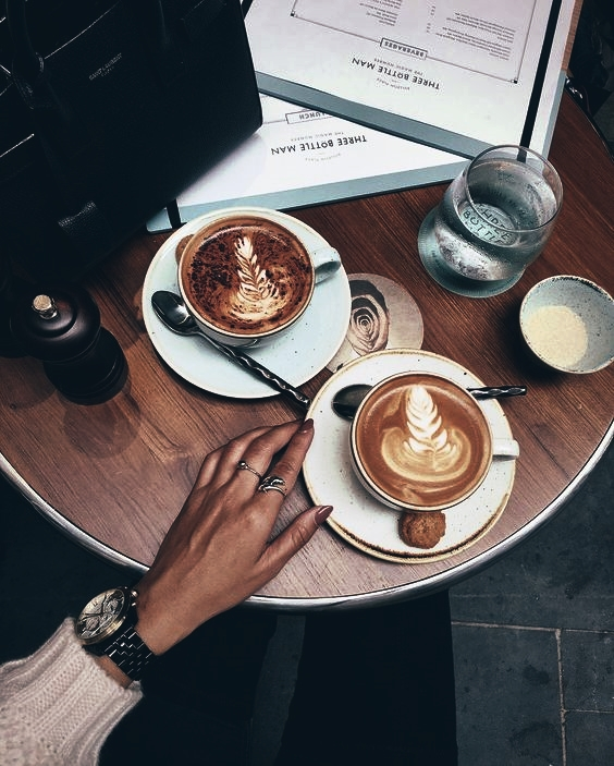 coffee art, cafe, morning and coffee
