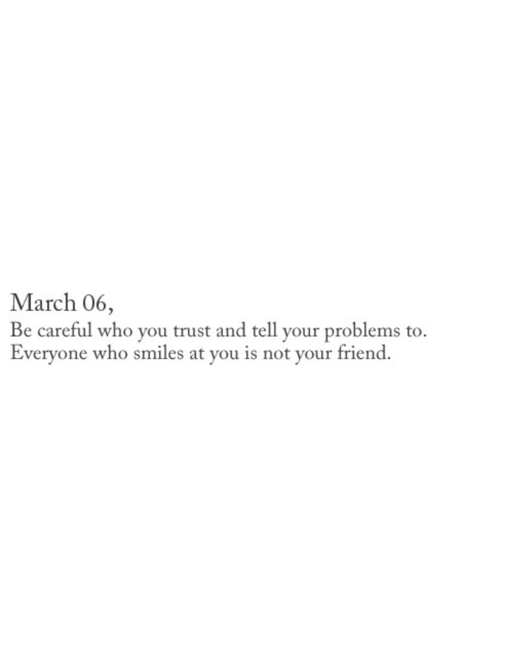 poetry, quote, trust and problems