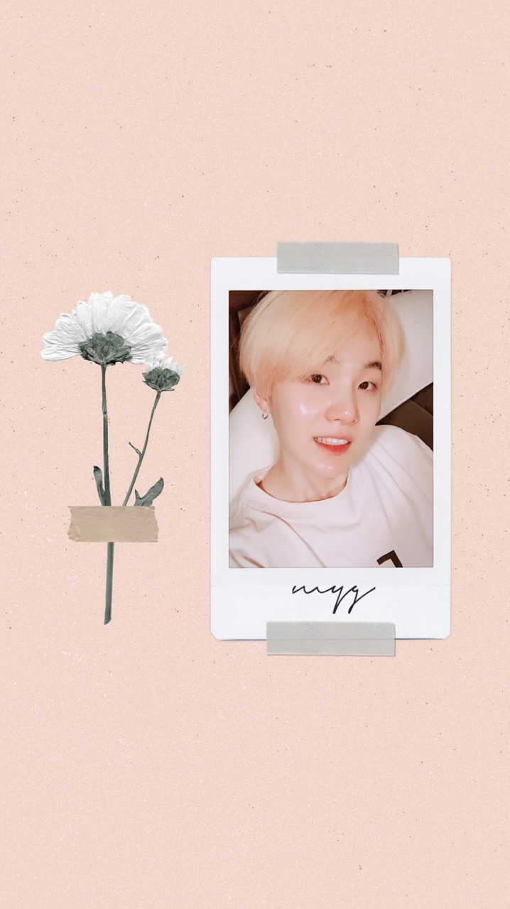 Aesthetic Wallpaper Kpop Edit Min Yoongi And Lil Meow Meow