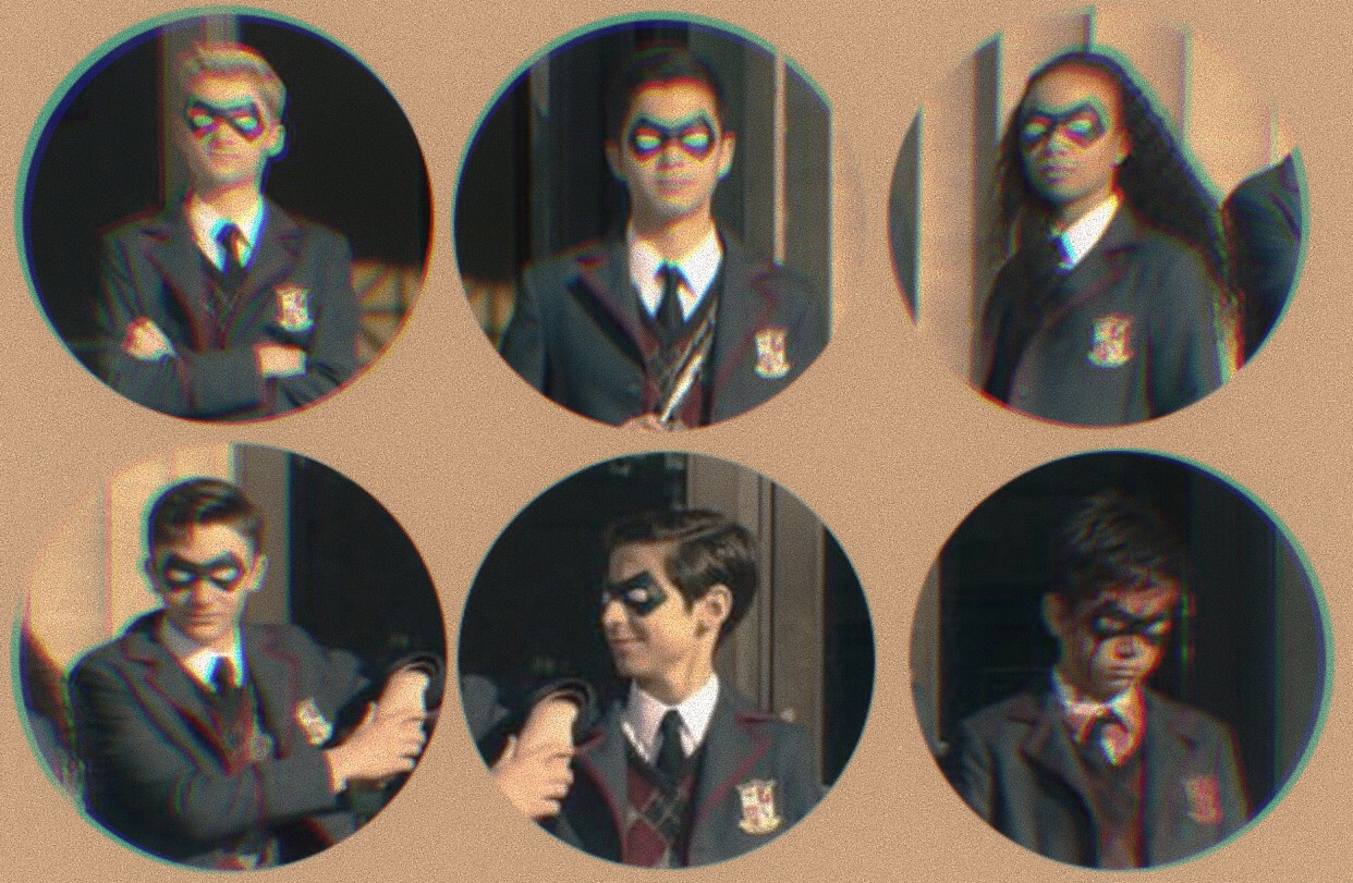 diego, the umbrella academy, rp help and number five