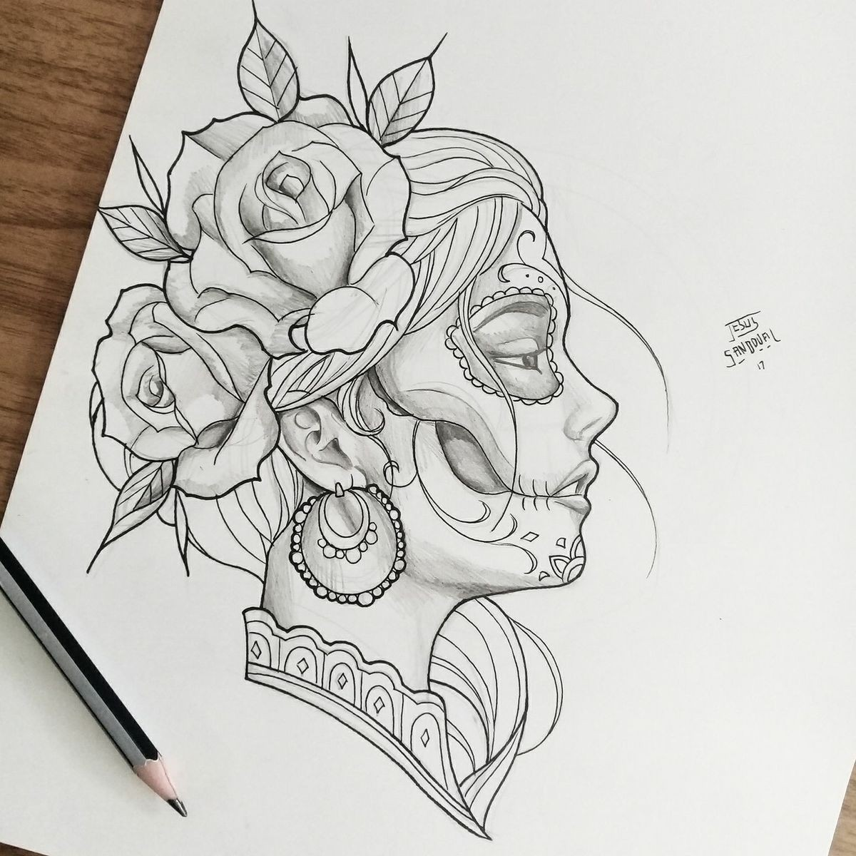 Roses Drawings Easy And Art Image 6958847 On Favim Com