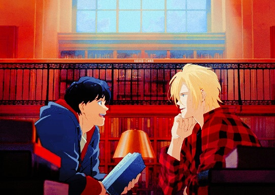 eiji okumura, anime, anime boys and ash lynx