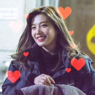 red velvet icons, joy, heart edits and park sooyoung