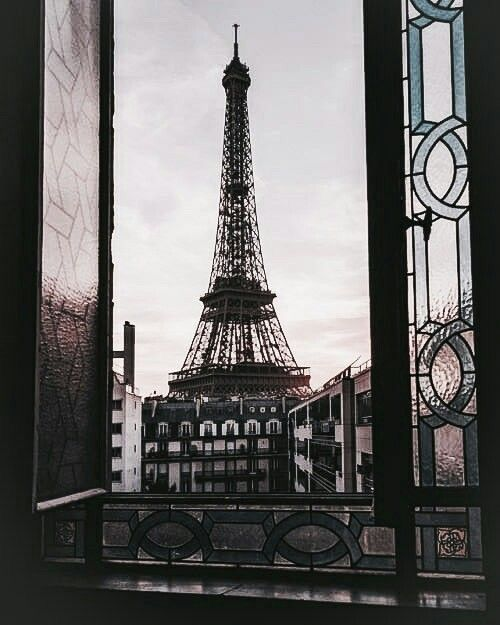 travel, paris, europe and view