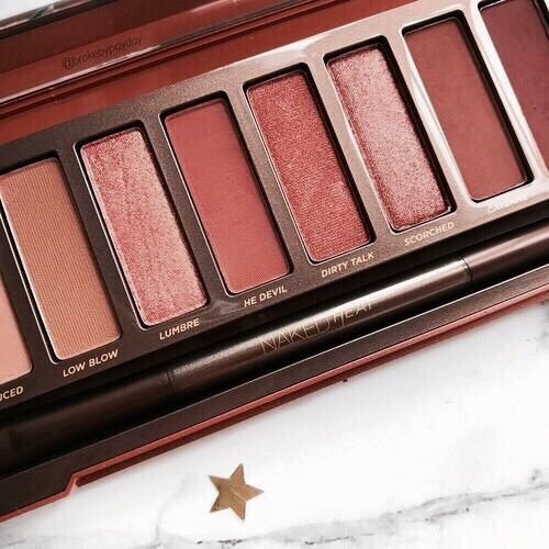 brown, naked palette, eyeshadow and beauty