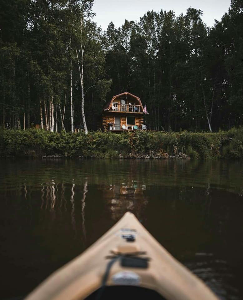 forest, home, cabin and house