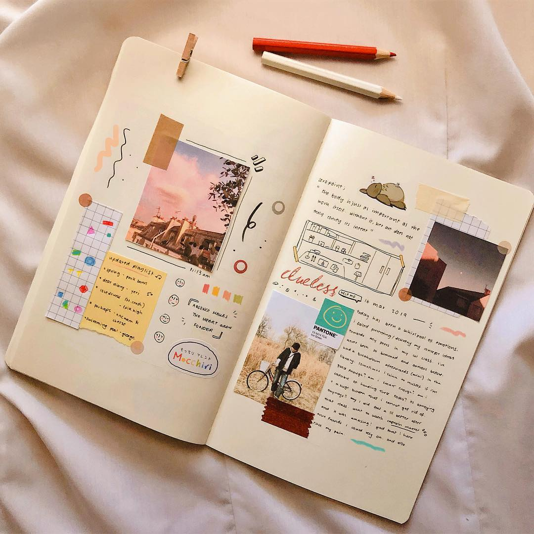 bullet journal, journal, inspo and notebook