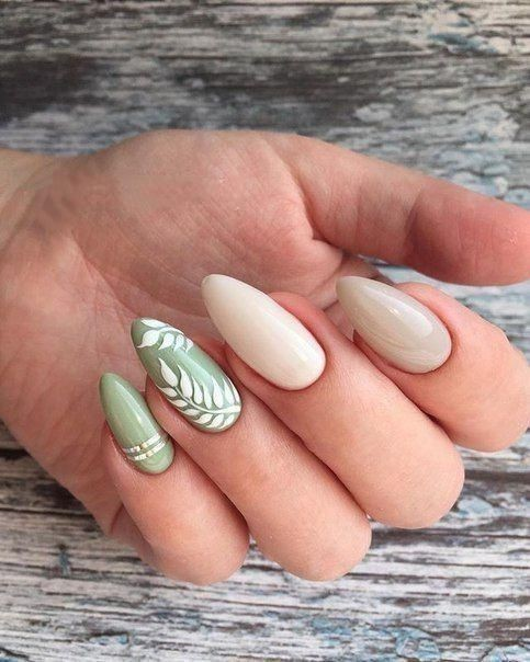 palm tree, nude colored nails, fashion and nails