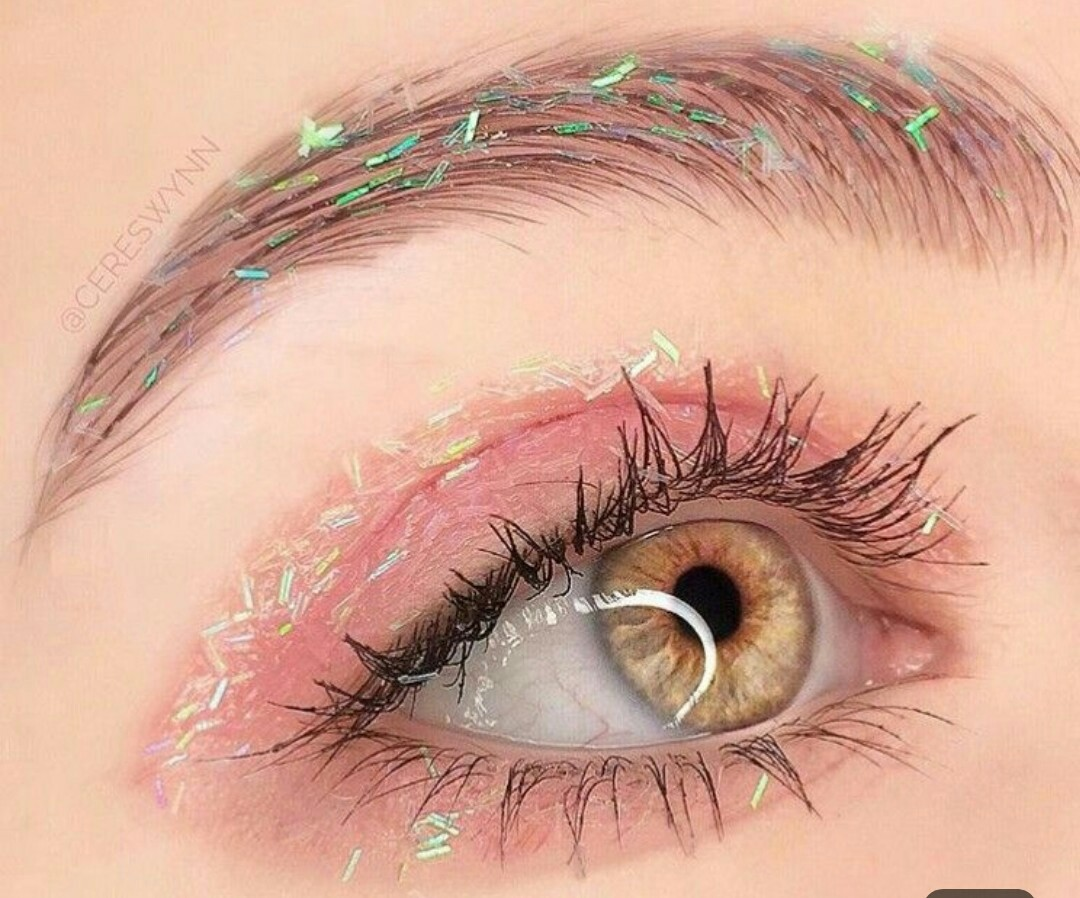 eyes makeup, girl, cosmetics and cute style