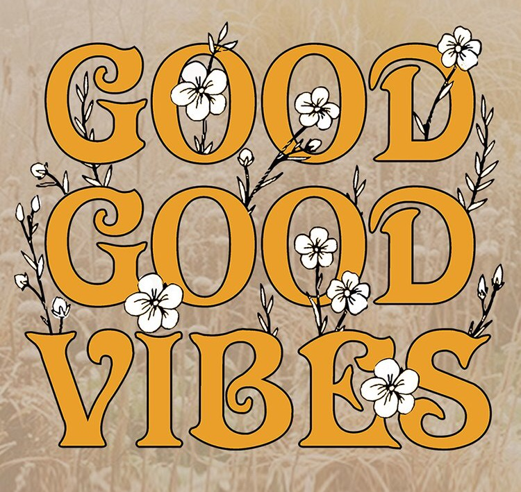 vibes are important, happiness, vibes direct life and good vibes