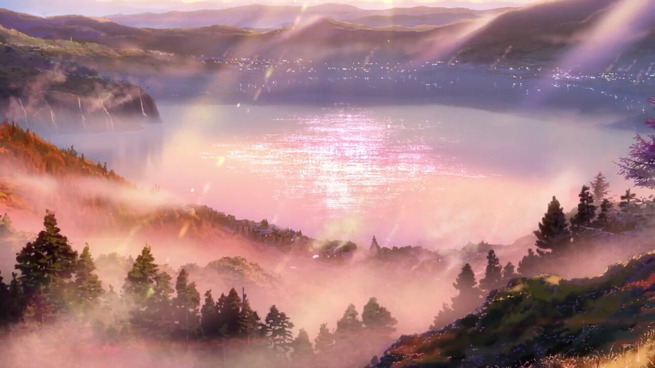 Anime Lofi Your Name And Scenery Image 7029997 On Favim Com