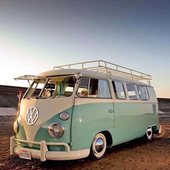 camper, vw, travel and beach