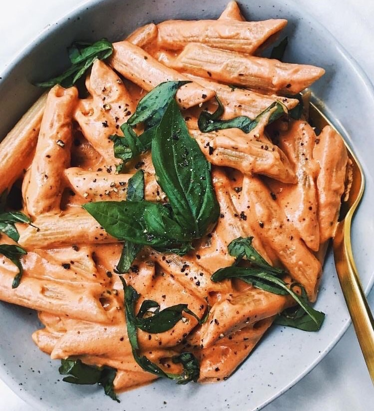 tomato, food, penne and restaurant