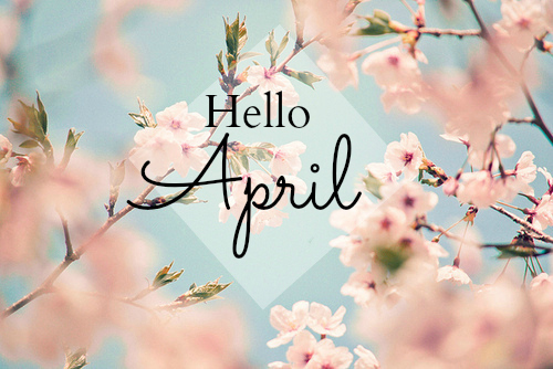 goodbye march, march 2019, april 2019 and spring