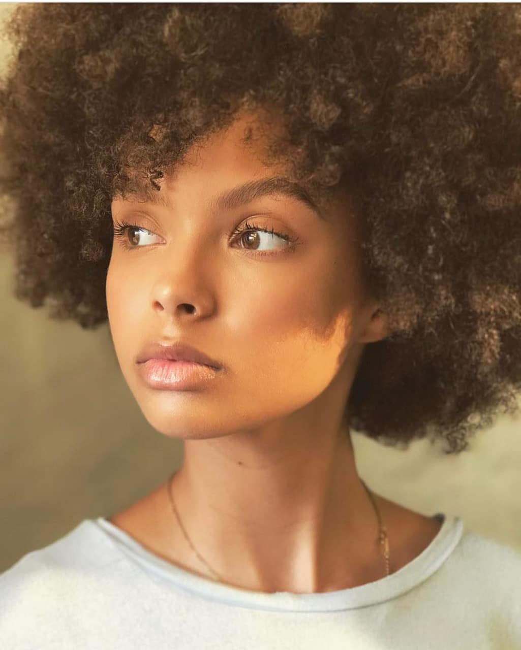kinky hair, curly fro, texture and natural hair