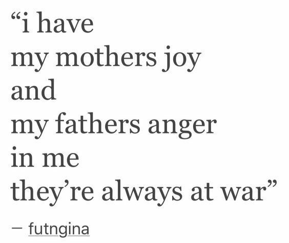 quote, joy, father and mother