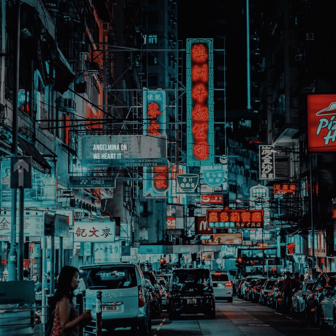 aesthetic, japan background, city wallpaper tumblr and neon colors