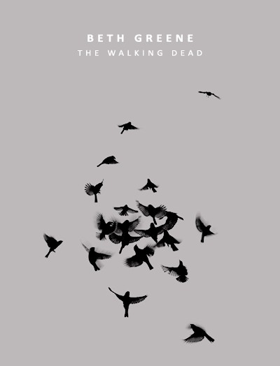 beth greene, poster, character and tv show