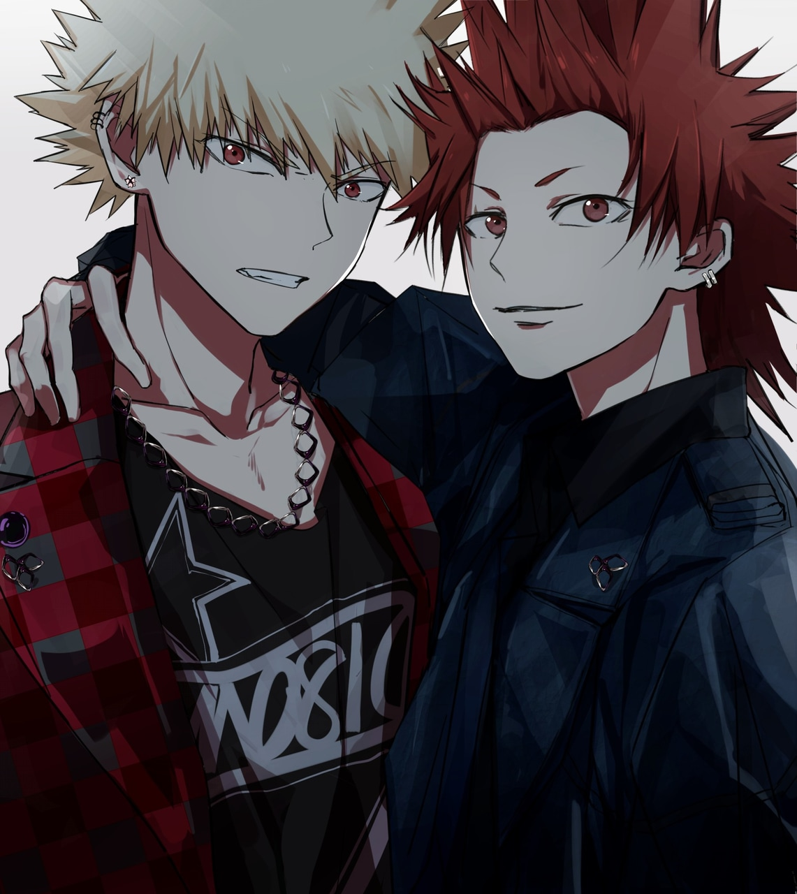 manga, bnha, fanart and kiribaku