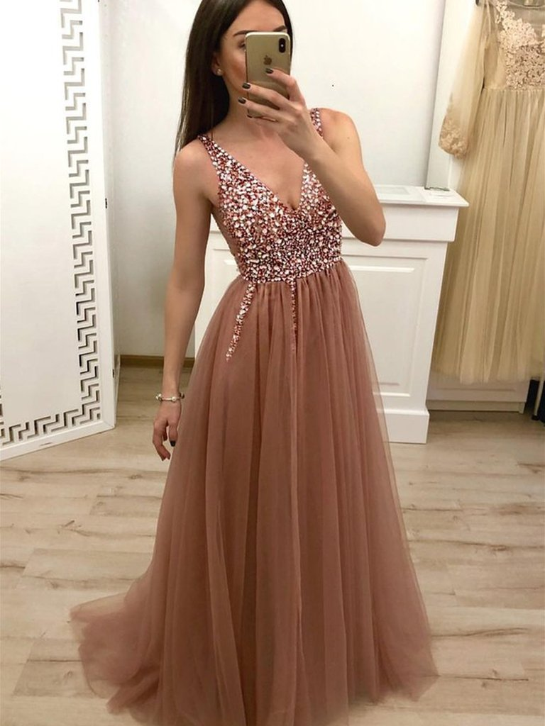 beaded prom dresses, formal dresses, golden prom dresses and dresses for prom
