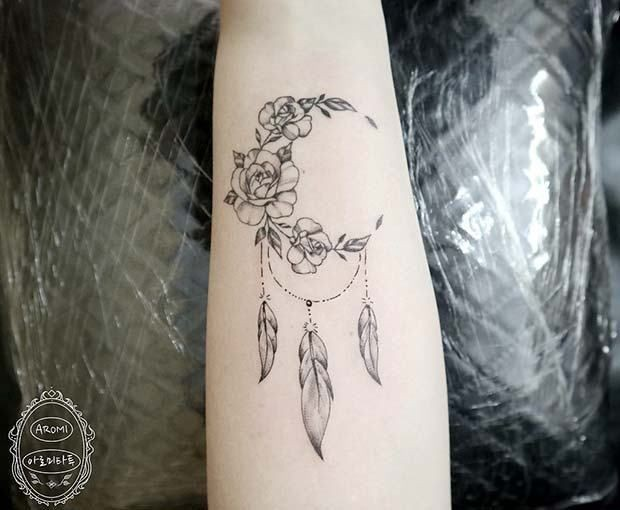 Body Art Tattoos Dreamcatcher And Tattoo Art Image 7061307 On Favim Com