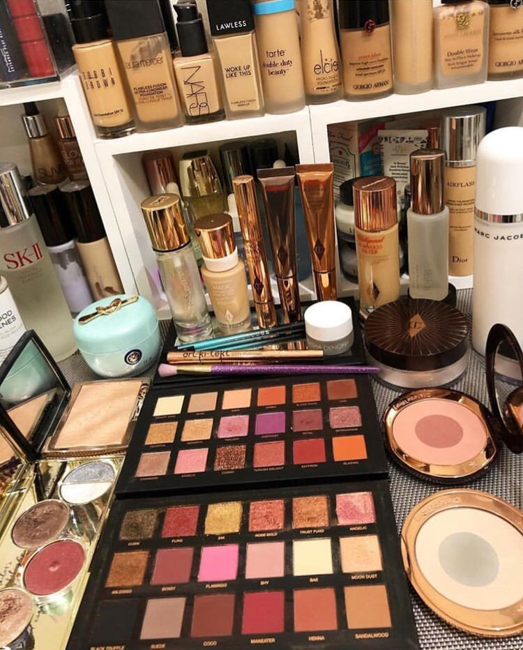 beauty, beauty room, vanity and huda beauty