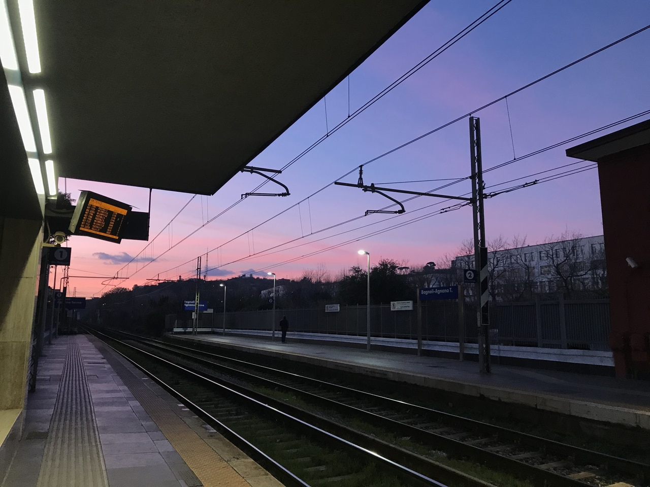 colors, love, railway station and trips