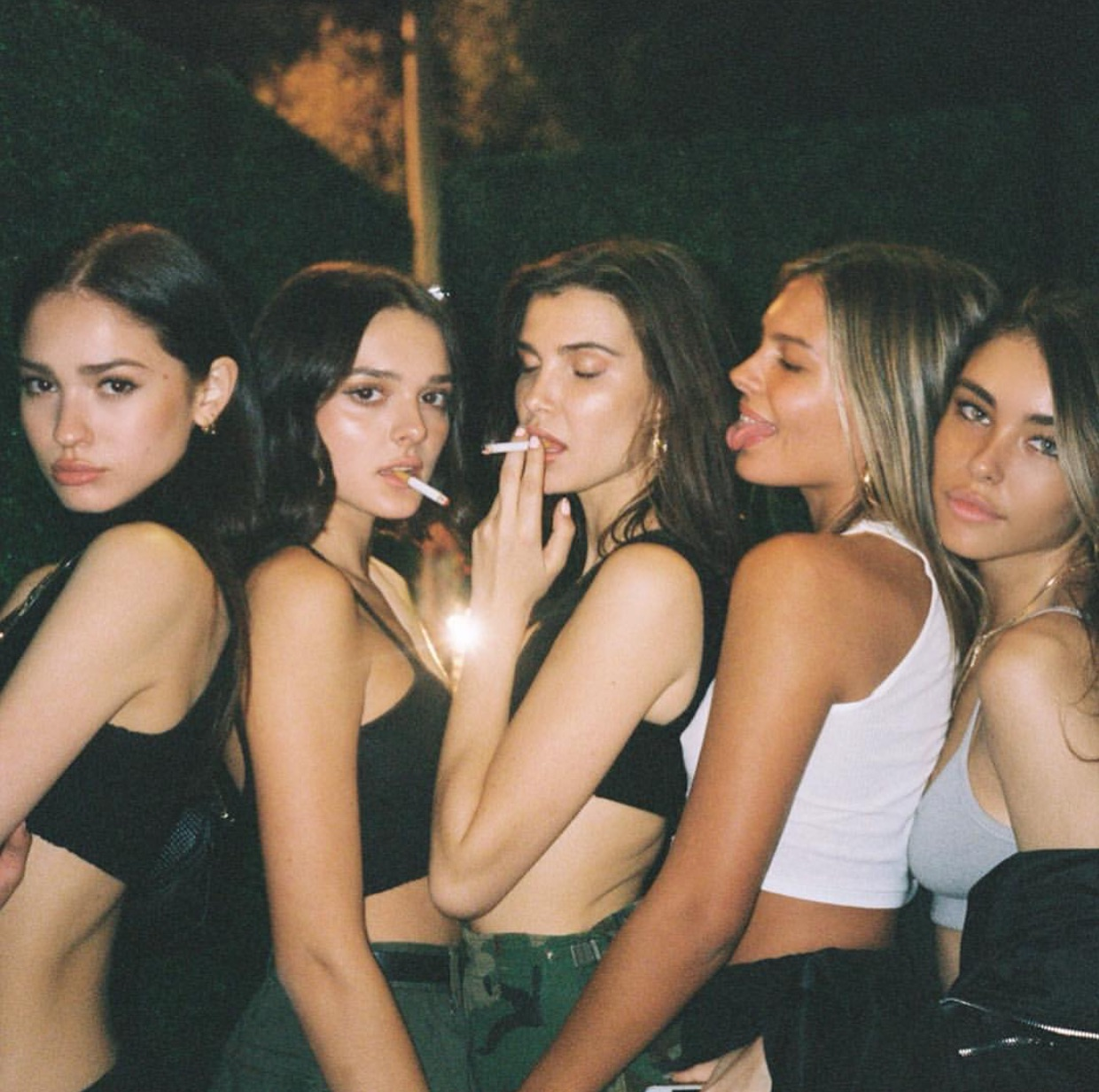 madison beer, charlotte dalessio, isabella jones and charlotte lawrence