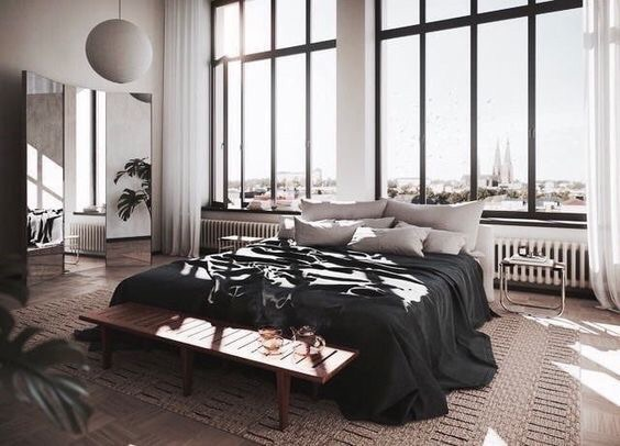 bedroom, dream, view and home