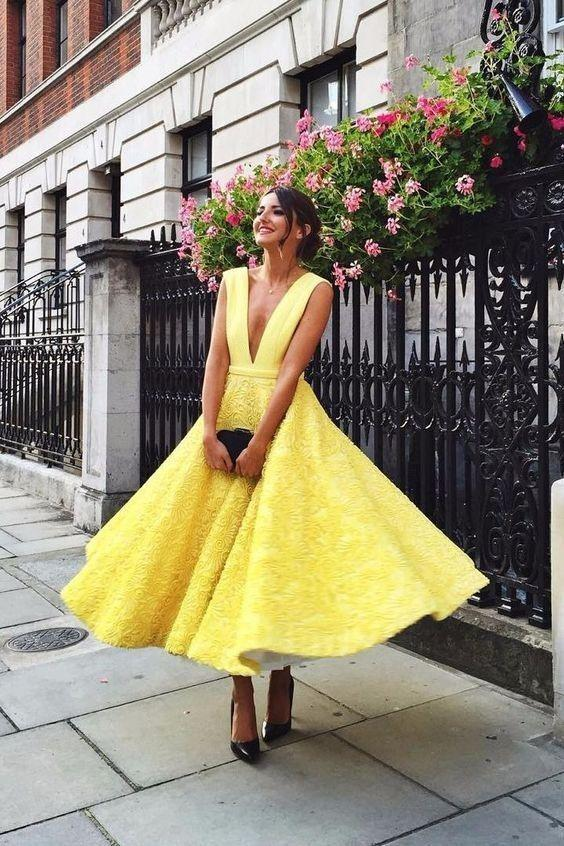 party dress, homecoming dresses, prom dress and v neck prom dress