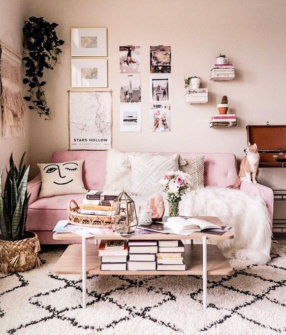 House Aesthetic Design And Pink Image 7091907 On Favim Com