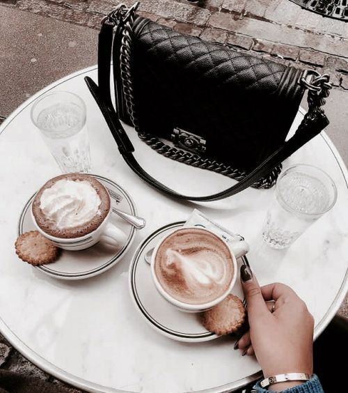 coffee time, aesthetic, bag and brown