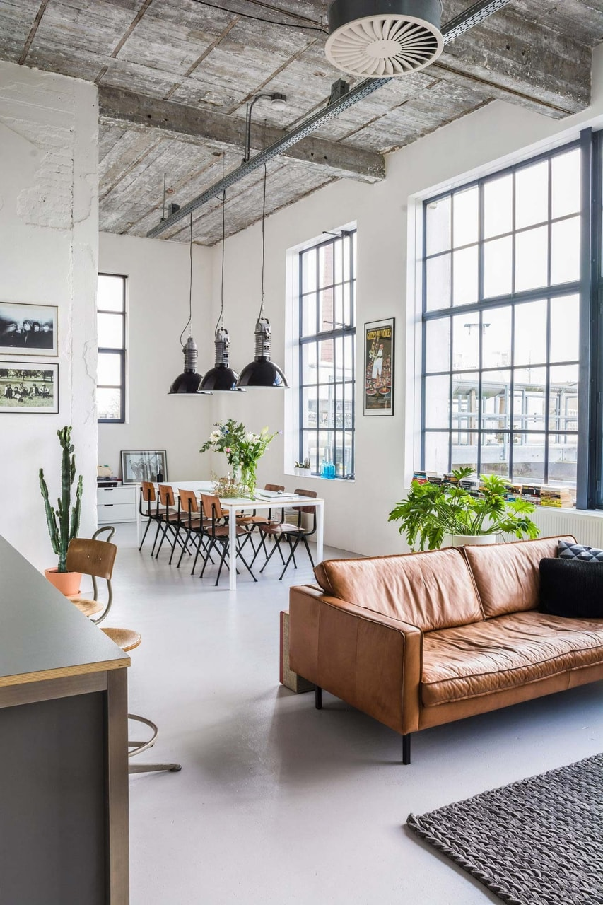 loft industriel, inspiration, dcoration and loft