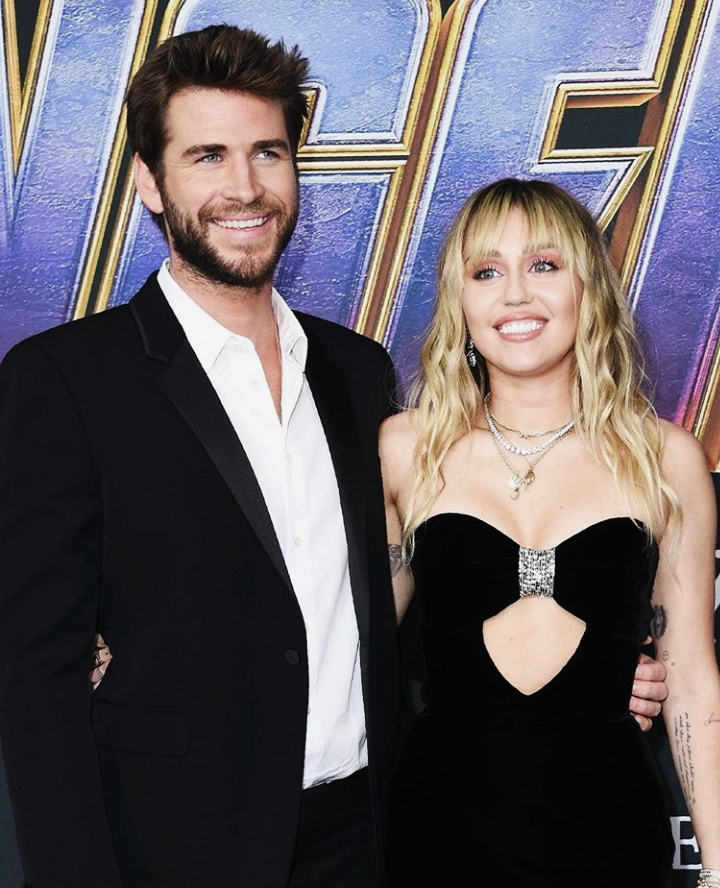 premiere, the avengers, beautiful and miley cyrus